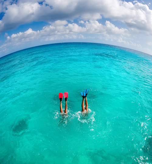 Couples Snorkeling