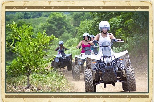 ATV Adventure St. Lucia