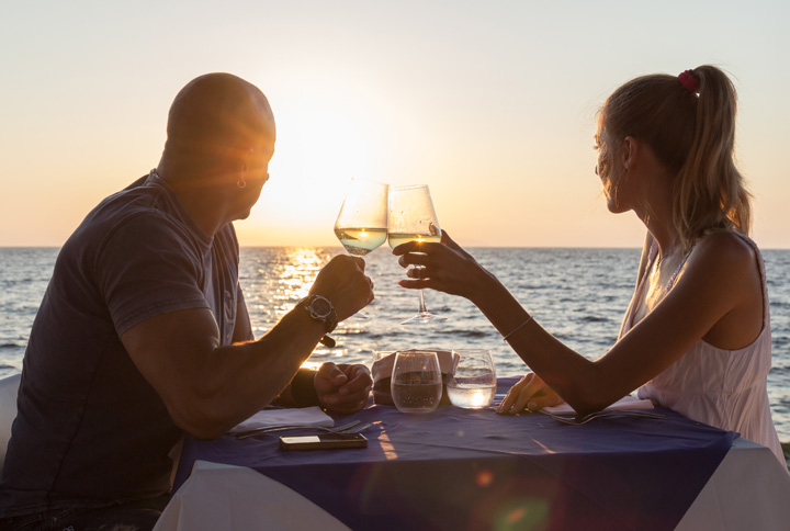 Candle Light Romantic Dinner on the Beach – Lobster Menu