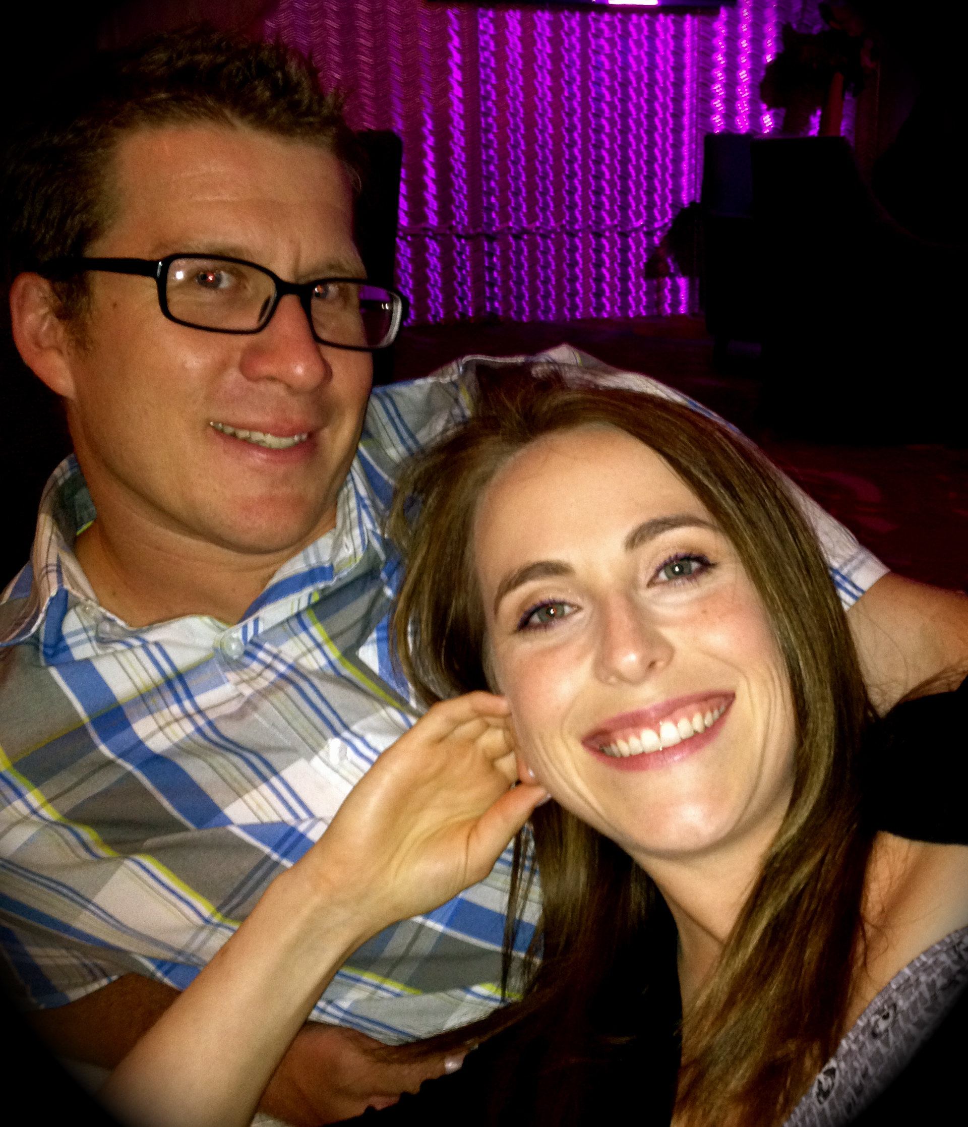 Tasha Yasmer and Russell Warby